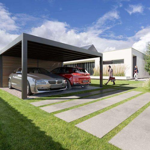Carport_2 cars_BOX